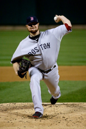 Louis October Jon Lester The Boston Red Sox Pitches