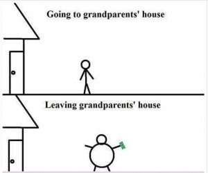 Funny Quotes | Going To Grandparents