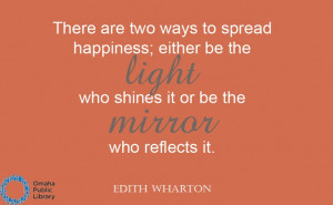 Edith Wharton quote. #OmahaReads #EdithWharton