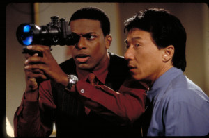 Still of Jackie Chan and Chris Tucker in Rush Hour 2 (2001)