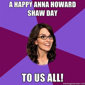 Happy Anna Howard Shaw Day!