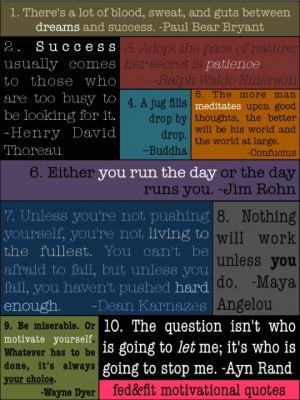 top ten motivational quotes