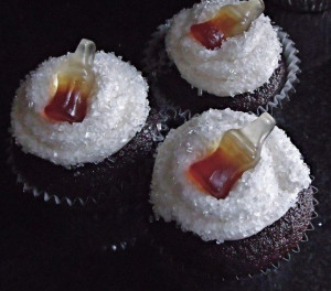 Jack and Coke cupcakes Attempting these tomorrow :)
