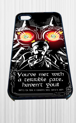 Legend Of Zelda Majoras Mask Quote for iPhone 4/4s, iPhone 5/5S/5C/6 ...