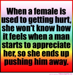 female-is-used-to-getting-hurt-quote-on-colourful-fonts-hurt-quotes ...