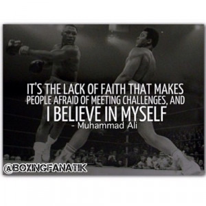 motivation / #boxing quote of the day: #muhammadali (Taken with ...