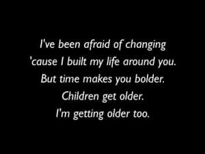 Stevie Nicks Landslide Song Lyrics