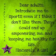 Sports teach valuable life lessons, and have countless health benefits ...