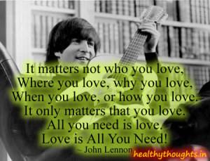 John+Lennon+love+quotes