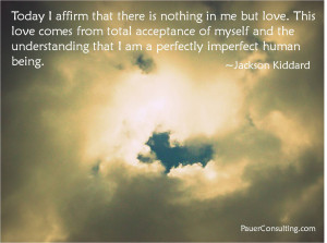 Am a Perfectly Imperfect Human Being