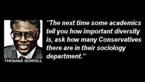 Thomas Sowell Quote Poster
