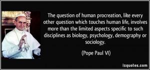 More Pope Paul VI Quotes