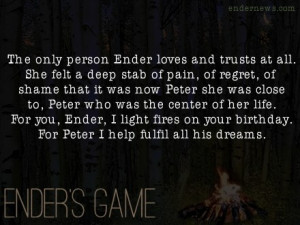 Ender's Game Character Quotes http://www.tumblr.com/tagged/valentine ...