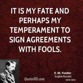 Temperament Quotes