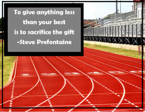 track and field team quotes