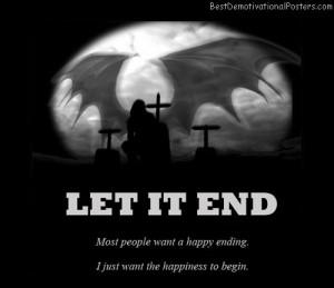 End Die Happy Ending Angel...