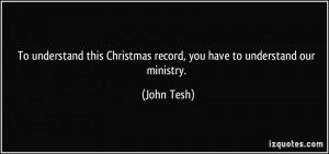 John Tesh Quote