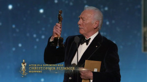 Christopher Plummer 2012 Academy Award Acceptance Speech for Best ...