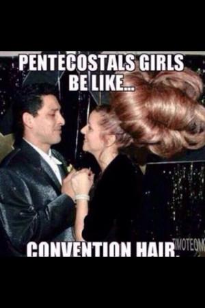 Love conventions!! #pentecostal humor