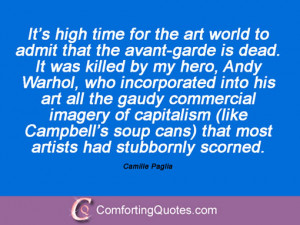 Camille Paglia Quotes And Sayings