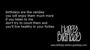 Funny 40th Birthday Sayings For Women Birthday-wishes-greeti...40th