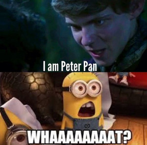 Peter Pan once upon a time @Emily this was the part I was telling u ...