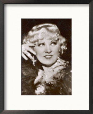 Mae West American Film Actress and Sex Symbol