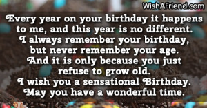 Birthday Wishes Quote for Woman