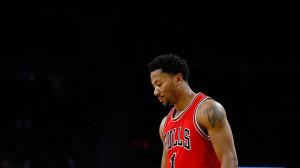 Derrick Rose walks out of hospital after knee surgery, Chicago Bulls ...