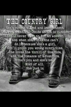 Country Girl Quotes | Country girl
