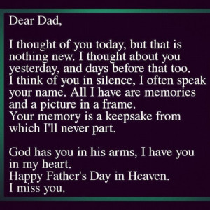 Go Back > Gallery For > Miss You Dad Quotes