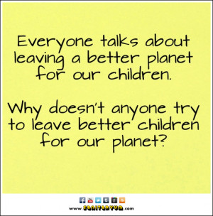 Children for a Better Planet
