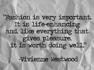 Vivienne Westwood via Laura Boyes Indeed, indeed!
