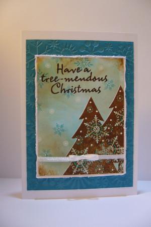 christmas card saying