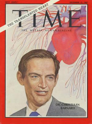 Christiaan Barnard Time magazine covers