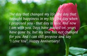 happy wedding anniversary to my husband