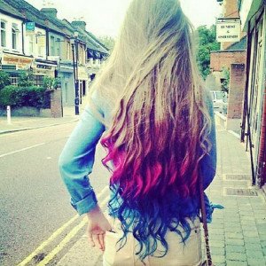 Color hair | via Tumblr