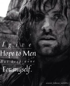 Aragorn quote.