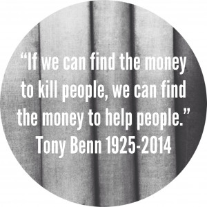 Tony Benn Quote