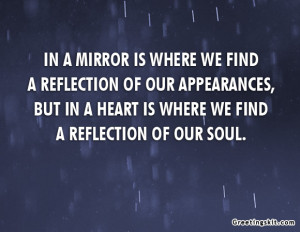 Reflection quotes reflect reflecting reflections self life quote in a