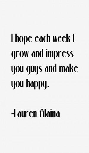 Return To All Lauren Alaina Quotes