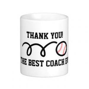 Baseball Coaches Gift Ideas