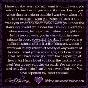 My Heart.