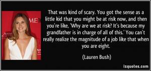 More Lauren Bush Quotes