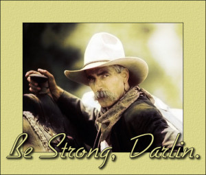TOUGH OLD COWBOY FROM SOUTH TEXAS COUNSELED HIS GRANDSON THAT IF HE ...
