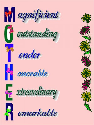 Happy Mother's Day Quotes – Mothers Quotes And Sayings.