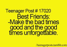 ... bff friends forever so true friends quotes3 teenagers post teen post