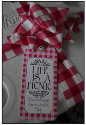 Life is a Picnic - Marriage Survival Kit