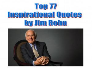 Inspirational Quotes Jim Rohn