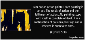 More Clyfford Still Quotes
